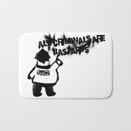 All Cops Bath Mat