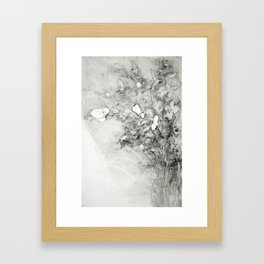 Vase of Iris Framed Art Print