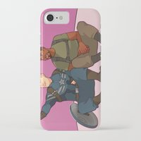 superhero iPhone & iPod Cases featuring Superhero Selfie by Kelslk