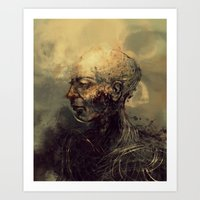android Art Prints featuring Android by nlmda