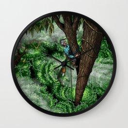 Flip Lining Wall Clock
