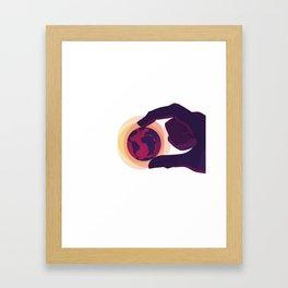 The Human Age Framed Art Print