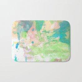 Watercolor Rag Bath Mat