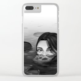 Lurking Clear iPhone Case