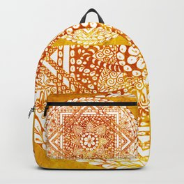 Sacred Geometry Mandala Backpack