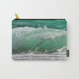 Sea Water Waves Carry-All Pouch