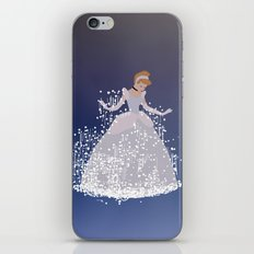 cinderella getting ready for the ball iPhone & iPod Skin