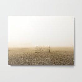 Soccer Field Metal Print