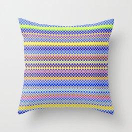 Stripe Me Now Throw Pillow