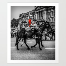 Cavalry at the Palace Art Print