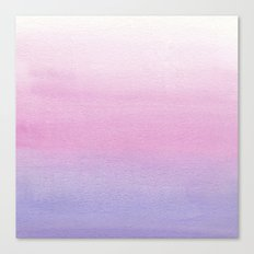 Watercolor Gradient Canvas Print