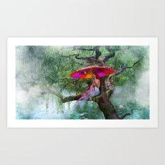 Cloudburst Art Print