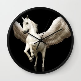 Majestic Pegasus Wall Clock