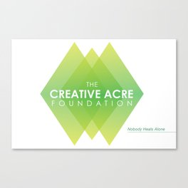 Creative Acre Foundation (CAF) Support Canvas Print