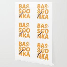 Bassoonka Musician Music Instruments Orchestra Design Wallpaper