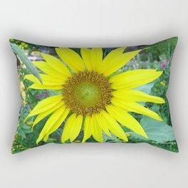 Stunning Sunflower Rectangular Pillow