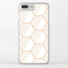 LYLA ((melon)) Clear iPhone Case