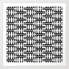 J Pattern Art Print