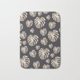Tropical Monstera Dream #2 #tropical #pattern #decor #art #society6 Bath Mat