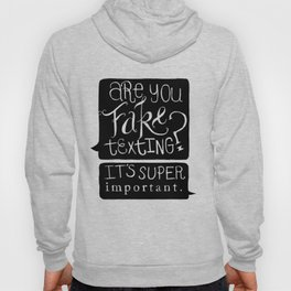 Lizzie Bennet Diaires- Fake Texting Hoody