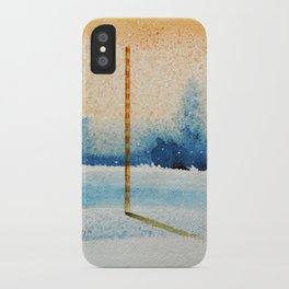 waxing crescent.two iPhone Case