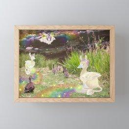 Duckiegryphs Framed Mini Art Print