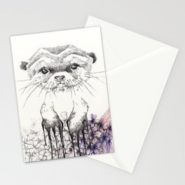 Otter Stationery Cards