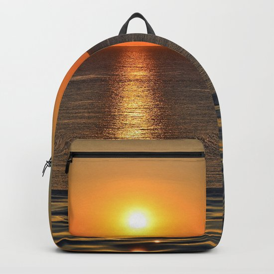 Super Sunset at the Beach Backpack
