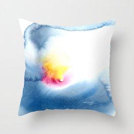 Soul's Bloom No. 1 by Kathy Morton Stanion Throw Pillow