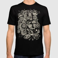 Mictecacihuatl 2 Black Mens Fitted Tee X-LARGE