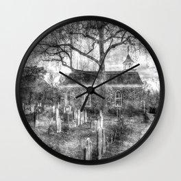 Old Dutch Church Of Sleepy Hollow Vintage Wall Clock