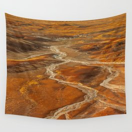 Painted Desert landscape at Petrified Forest National Park Wall Tapestry
