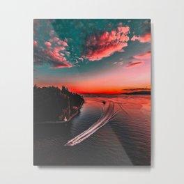 Ocean Twilight Metal Print