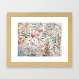 jardin 2 Framed Art Print