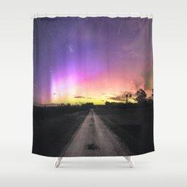 Aurora Australis, Drouin - Australia Shower Curtain