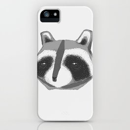 Crab-eating Raccoon iPhone Case