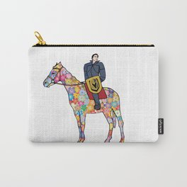 Sir Flower the Golden Knight Carry-All Pouch