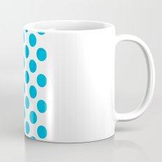 Blue Polka Dot Mug