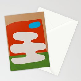 abstract minimal 35 Stationery Cards