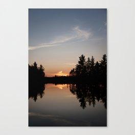 Northern Sunset 003 Canvas Print