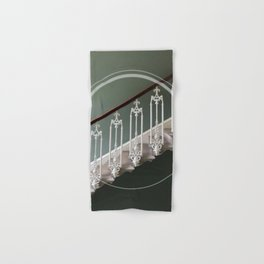 Stairway to heaven - circle graphic Hand & Bath Towel