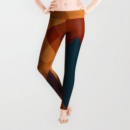 Warming Geometric Art Leggings
