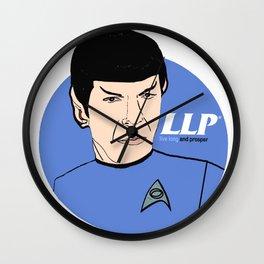 LLP - Live Long and Prosper Wall Clock