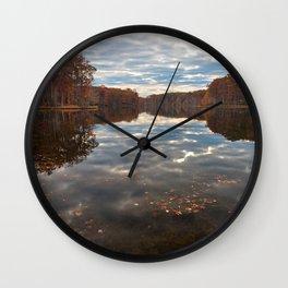 Seneca Fall Reflections Wall Clock
