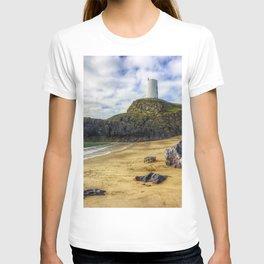 Llanddwyn Island Lighthouse T-shirt
