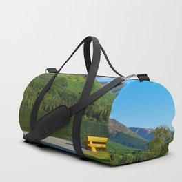 Summit Lake - Kenai Peninsula, Alaska Duffle Bag