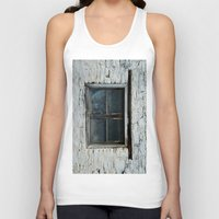 window Tank Tops featuring window by habish