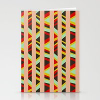tribal Stationery Cards featuring tribal by sylvie demers