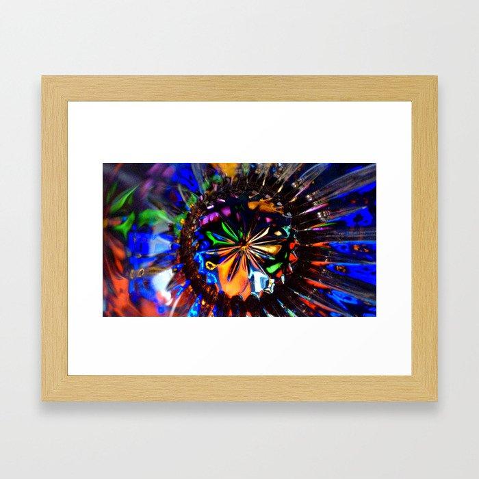 Colour Burst Framed Art Print