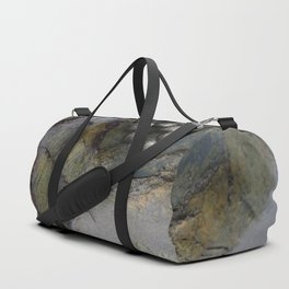 Collection of Limpets on Coastal Rocks Duffle Bag